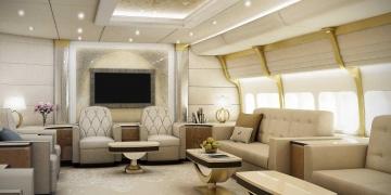 ФОТО: Луксузен дом во облаците – новиот приватениот авион Boing 747