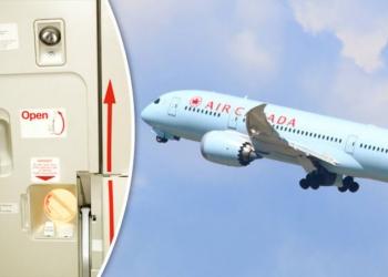 (Видео) Еве што се случува ако се отвори врата во авион за време на лет