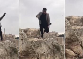 (Видео) Турчин паднал од карпа висока 160 метри додека снимал роденденско видео