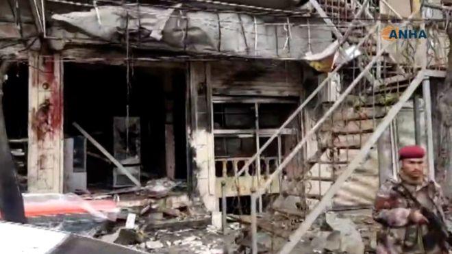 Турција го осуди нападот во Манбиџ во кој загинаа 20 луѓе