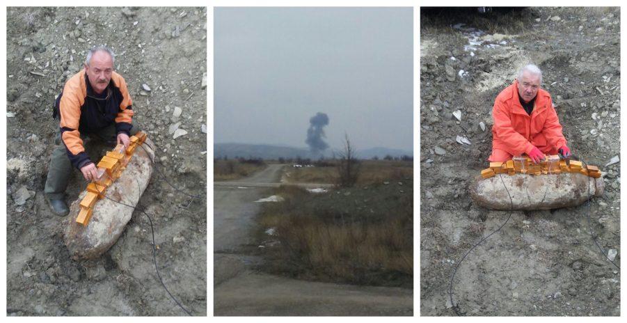 Уништена големата авионска бомба која беше пронајдена во центарот на Скопје