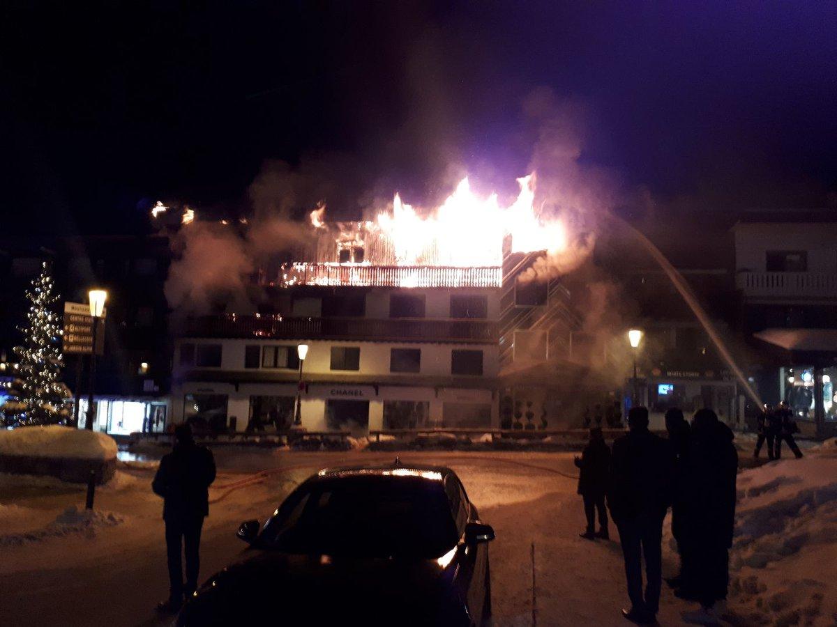 Ужас во француски ски-центар, две лица изгореа во пожар во хотел
