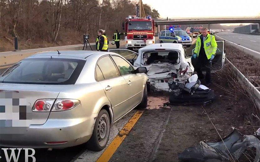 Германските медиуми со извештај од лице место: Видео од несреќата на Шабан Шаулиќ