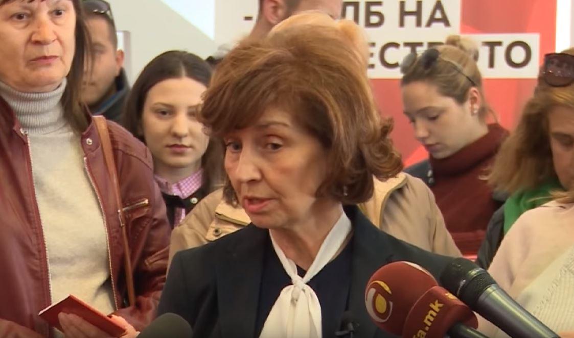Силјановска го прашува Заев: Што бараат премиерот и министерот за внатрешни работи во претседателска кампања