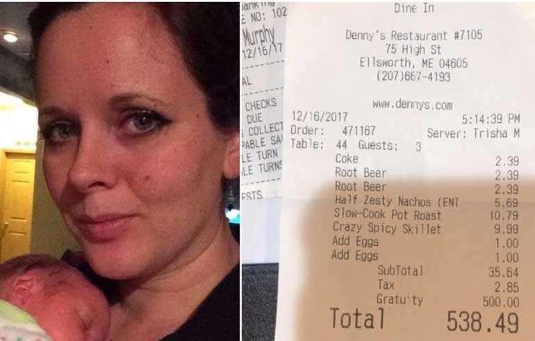 Самохрана мајка на четири деца послужила тројца мажи во ресторан: Кога дошло време за плаќање, останала зачудена