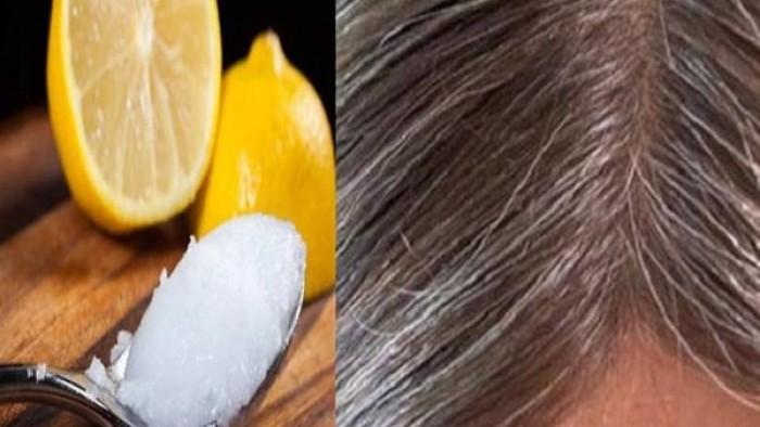 Со помош на само две состојки вратете ја природната боја на косата и покријте ги седите влакна