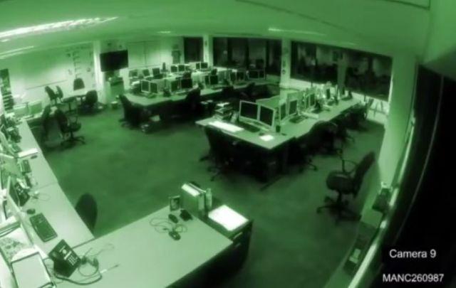 но сигурносните камери забележаа нешто страшно